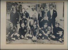 Foto estudio de el Club Deportivo Guadalajara en 1906, año de su fundación.