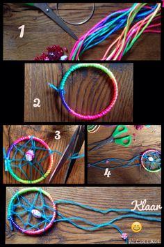 Daycare Crafts, Toddler Crafts, Home Crafts, Crafts For Kids, School Holiday Crafts, School Holidays, Diy Dream Catcher For Kids, Native American Crafts, Wooden Crafts
