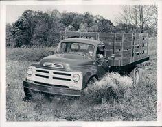 Studebaker truck in action