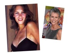 Celebrities: Then & Now   Jamie Leigh Curtis
