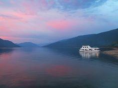 Sunrise over Shuswap Lake