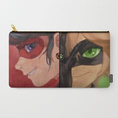 Miraculous Duo Pouch - $18 ⋆ Ladybug & Cat Noir Gifts!