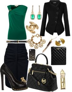 """""""Modern Joan Holloway (office)"""" by lmnorman-1 on Polyvore"""