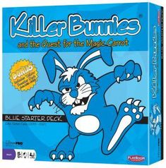 Just listed on our website: Killer Bunnies Bl... Check it out here! http://www.thegamescorner.com.au/products/killer-bunnies-blue-starter?utm_campaign=social_autopilot&utm_source=pin&utm_medium=pin
