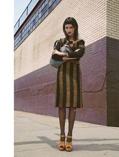 josephine skriver model3 Josephine Skriver Oozes Attitude for Harpers Bazaar Latin America by Hans Neumann