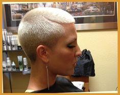 Výsledek obrázku pro Ladies Ultra Short Haircuts