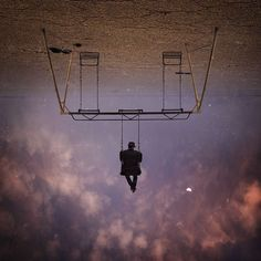 These Stunning Pictures by Hossein Zare Bend the Rules of Gravity #photography trendhunter.com