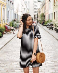 Stripes - dress @shein // Chic and Clothes