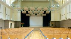Large Conference Hall For Hire In London London City, Conference, Chandelier, Ceiling Lights, Architecture, Home Decor, Arquitetura, Candelabra, Decoration Home
