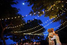A brighter backyard wedding! http://www.partylights.com/String-Lights-Sets