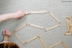 Alphabet dominoes are the best! A quick and easy alphabet activity that preschoolers will love. A great abc matching activity to help make it to nap time.