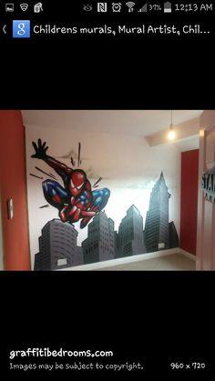 Spiderman wall decor