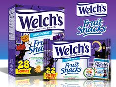 Enter Now For a Chance to Get Your Trick-or-Treating Started Early and Scare Up Some Welch's Fruit Snacks fun!  https://www.facebook.com/WelchsFruitSnacks/app_228910107186452