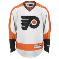 Men s Reebok White Philadelphia Flyers Premier Away Jersey ac0231929