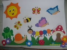Soft Board Decoration, School Board Decoration, Class Decoration, School Decorations, Kids Crafts, Christmas Crafts For Kids To Make, Preschool Crafts, Diy And Crafts, Arts And Crafts