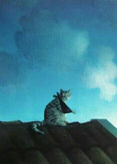 Michael Sowa Michael Sowa, Crazy Cat Lady, Crazy Cats, Surrealism Painting, Cat Drawing, Surreal Art, Famous Artists, Animal Drawings, Art Oil