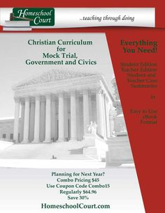 50 best civics images on pinterest history diana and homeschool homeschool court teaching through doing planning for next year combo price 45 fandeluxe Images