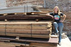 Meegan Czop ... diverting over 8,000 tons of construction materials from landfills with the Rebuilding Exchange #Chicago