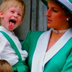 Prince Harry and Diana