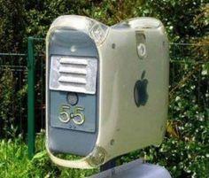 Reutilizar cpu viejo en buzón de correo #DIY #reused