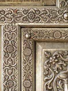 Wood Art Panels, Panel Art, Antique Doors, Old Doors, Indian Furniture, Indian Textiles, Main Door, Ancient Artifacts, Textile Patterns