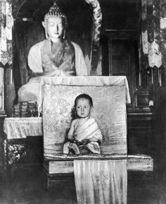 The Dalai Lama at age 2 in 1937.