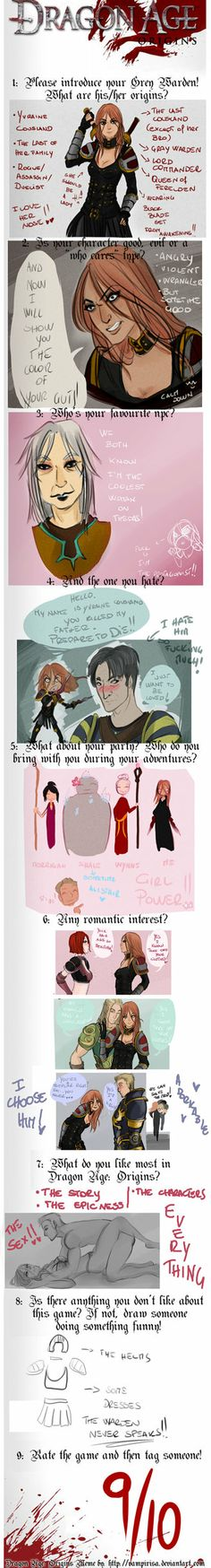 Dragon Age :Origins Meme by AlexielApril on deviantART