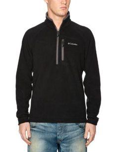 Columbia Men`s Fast Trek II Half Zip Fleece Jacket $23.99 - $39.95