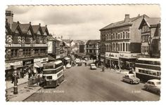 WBZ-Early-Postcard-Market-Place-Wigan-Lancashire