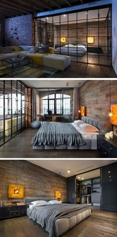 Igor Martin and Olga Novikova of MARTINarchitects, have completed a loft apartment for a lawyer in Kiev, Ukraine.