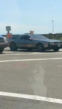 You built a time machine, out of a DaLorean?