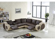 Apollo Leather Lounge has recliners on each end and adjustable armrests that offers an integrated drink holder, it will make you feel like you have a personal cinema at home. Leather Reclining Sofa, Leather Recliner, Leather Sofas, Lounge Sofa, Chaise Sofa, Custom Made Furniture, Furniture Making, Living Room Sofa Design, Living Rooms