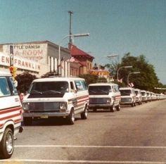 LRP bicentennial conversion GMC van