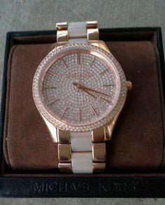 428f3ae42134 Michael Kors Slim Runway Rose Gold Dial Watch MK4288 NWT  MichaelKors  Stainless Steel Case