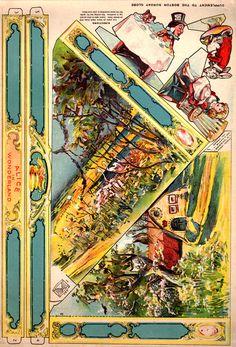 Story Book Sundays - Alice In Wonderland - Paper Toy - 1905