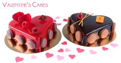 Valentine's Day Cakes | 6p | $39 | Sweetly Divine & Sinfully Decadent Cakes!