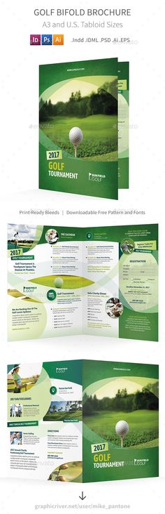 Golf Flyer  Golf Tournament  In   Print Templates Golf And