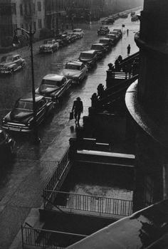 Ruth Orkin - Man in Rain, 1952