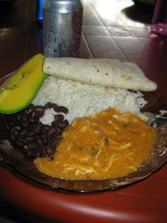 Traditional lunch in Nicaragua   INDIO VIEJO...