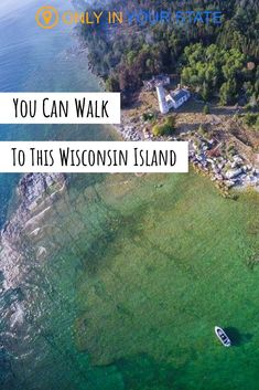 Did you know there's a Wisconsin Island in Door County with a beautiful beach and lighthouse that you can actually walk to? It's a perfect vacation or summer adventure. You'll love the scenic views and Lake Michigan breezes. Weekend Getaways In Wisconsin, Wisconsin Vacation, Lake Michigan, Camping In Wisconsin, Lake Geneva Wisconsin, Wisconsin State Parks, Door County Wisconsin, River Falls Wisconsin, Wisconsin Dells