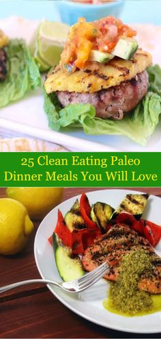 25 Clean Eating Paleo Dinner Meals You Will Love
