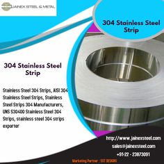 We are exporters & manufacturer of 304 Stainless Steel Strips, AISI 304 Stainless Steel Strips, UNS SS 304 Strips Manufacturers, Suppliers at low rates from Mumbai, India. Stainless Steel Strip, Electronic Appliances, Mumbai, India, Bombay Cat