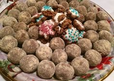 Dog Food Recipes, Dessert Recipes, Lollipop Candy, Edible Gifts, Christmas Desserts, Fudge, Food And Drink, Xmas, Sweets