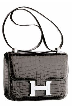 Black Crocodile Hermès Constance bag Сумки Hermes, Сумки Hermes, Гермес  Биркин, Городской Шик e044746ac20