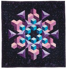 Tumbling Blocks Quilt Pattern | Tumbling Blocks and More | Quilt with Marci Baker | Quilt Patterns ...