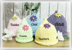Looking for your next project? You're going to love Cotton Top Pixie Hats Preemie to Adult by designer Laurel Arts.