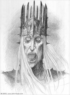 But Sauron did not understand the powers and vigilance of the Wise... and at that time, the Chieftain of the Ringwraiths dwelt in Minas Morgul with six companions, while Khamul the Shadow of the East abode in Dol Guldur as Sauron's lieutenant.