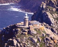 Islas Cíes, Galicia, Spain Belleza Natural, Terra, Lighthouse, Statue Of Liberty, Costa, Industrial, Travel, Around The Worlds, Beautiful Places