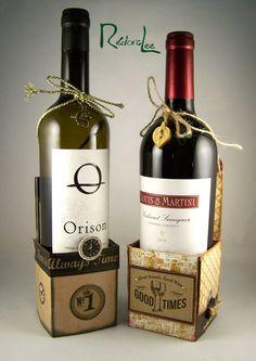 Shopping Our Stash - DT Make Wine Bottle Cradles