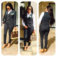 Corporate Styles For Best Casual Office Outfit For the Ladies Corporate Attire, Corporate Fashion, Business Casual Attire, Professional Attire, Business Outfits, Office Outfits, Casual Office, Cute Pants Outfits, Chic Outfits